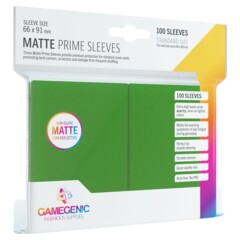 Gamegenic - Sleeves Matte Prime - Green 100 ct