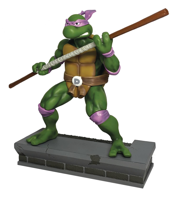 TMNT 1:8 Scale Donatello PVC Statue