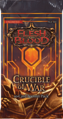 Flesh and Blood TCG - Crucible of War Unlimited Booster Pack