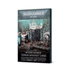 Battlezone Mechanicum - Terrain Datasheet Cards