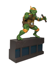 TMNT 1:8 Scale Michelangelo PVC Statue