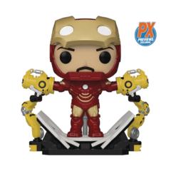 Pop! Marvel - Iron Man Mk IV with Gantry Glow-in-Dark PX Exclusive
