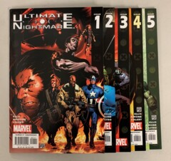 Ultimate Nightmare (Marvel 2004) #1-5 Set Warren Ellis 1 2 3 4 5 (9.0+)