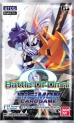 Digimon TCG - BT05 Battle of Omni Booster Pack