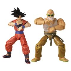 Dragon Ball Super - Dragon Stars - Goku & Mutenroshi Action Figure 2 Pack (2021 Con Exclusive)