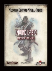 Legenday Games - Pathfinder 2E Cards - Divine Basic Cantrips 2nd Level