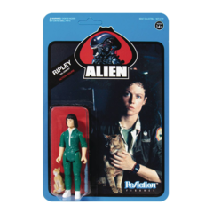 ReAction Figures - Alien - Ripley with Jonesy (Blue Card)