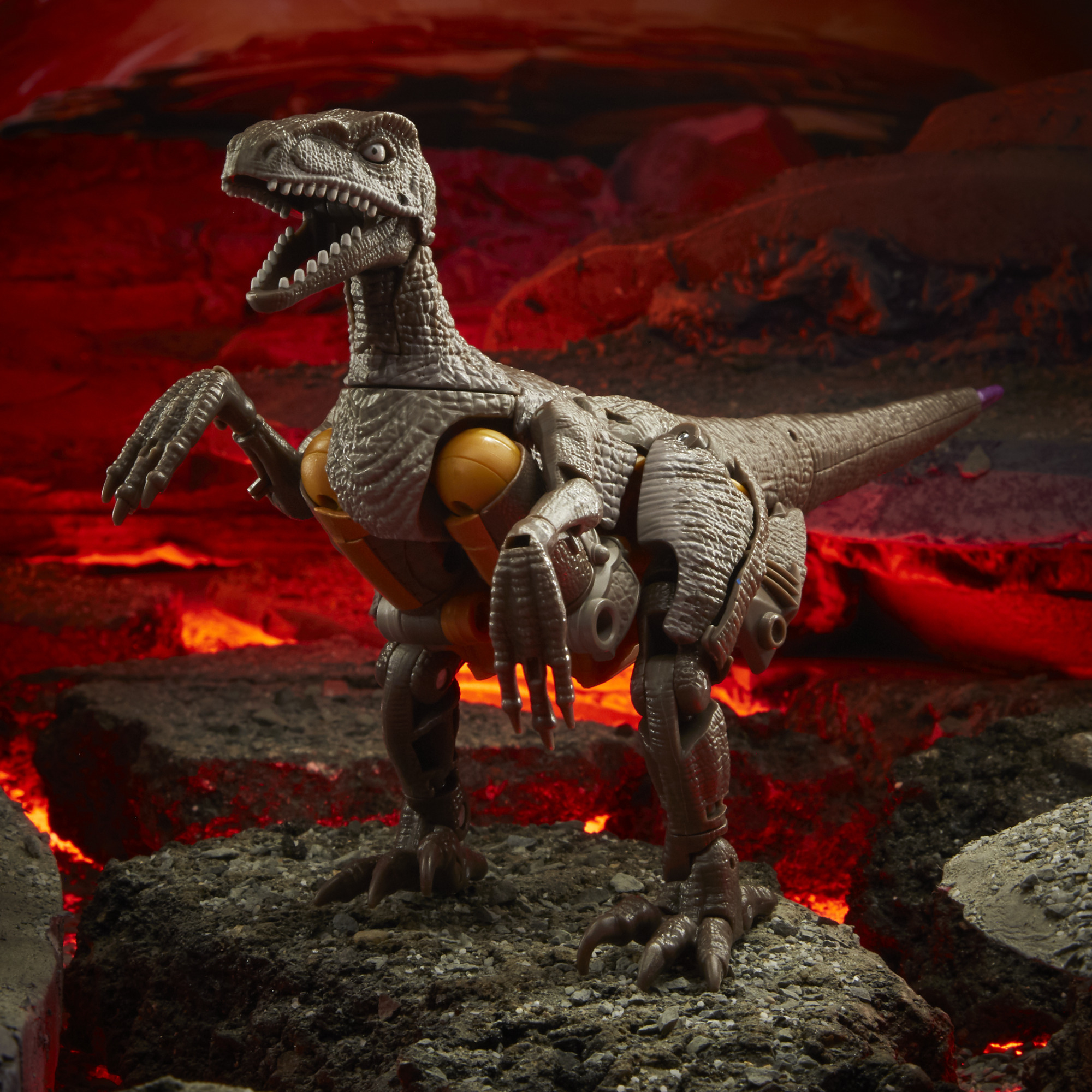 Transformers Generations War for Cybertron: Kingdom - Voyager Dinobot
