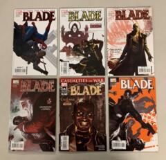 Blade (Marvel 2006) #1-12 Set Marc Guggenheim 1 2 3 4 5 6 7 8 9 10 11 12 (8.0+)