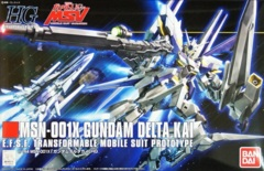 Gundam - HG Universal Century - MSN-001X Gundam Delta Kai 1/144