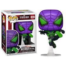 Pop! Games - Spider-Man Miles Morales - Miles Morales Purple Reign Suit