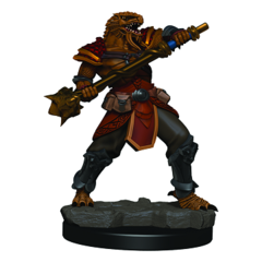 D&D Icons of the Realms - Premium Mini - Dragonborn Male Fighter