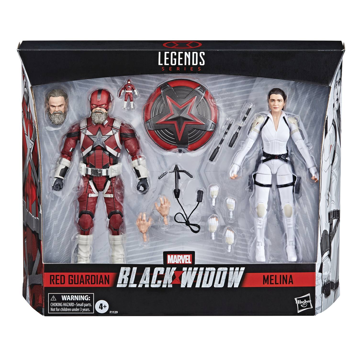 Marvel Legends - Black Widow - Red Guardian & Melina 2 Pack 6in Action Figure