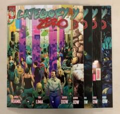 Category Zero (Scout Comics 2019) #1-5 Set Adem Kiamil 1 2 3 4 5 (9.2)