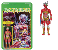 ReAction Figures - Iron Maiden Somewhere In Time - Cyborg Eddie