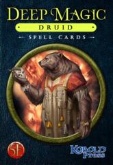 Deep Magic - Druid Spell Cards