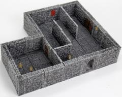 Warlock Tiles - Dungeon Tiles II: Full Height Stone Walls Expansion