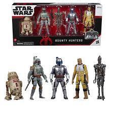 Star Wars Celebrate The Saga - Bounty Hunters 5pc Action Figure Set