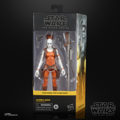 Star Wars - The Black Series - The Clone Wars - Aurra Sing Action Figure