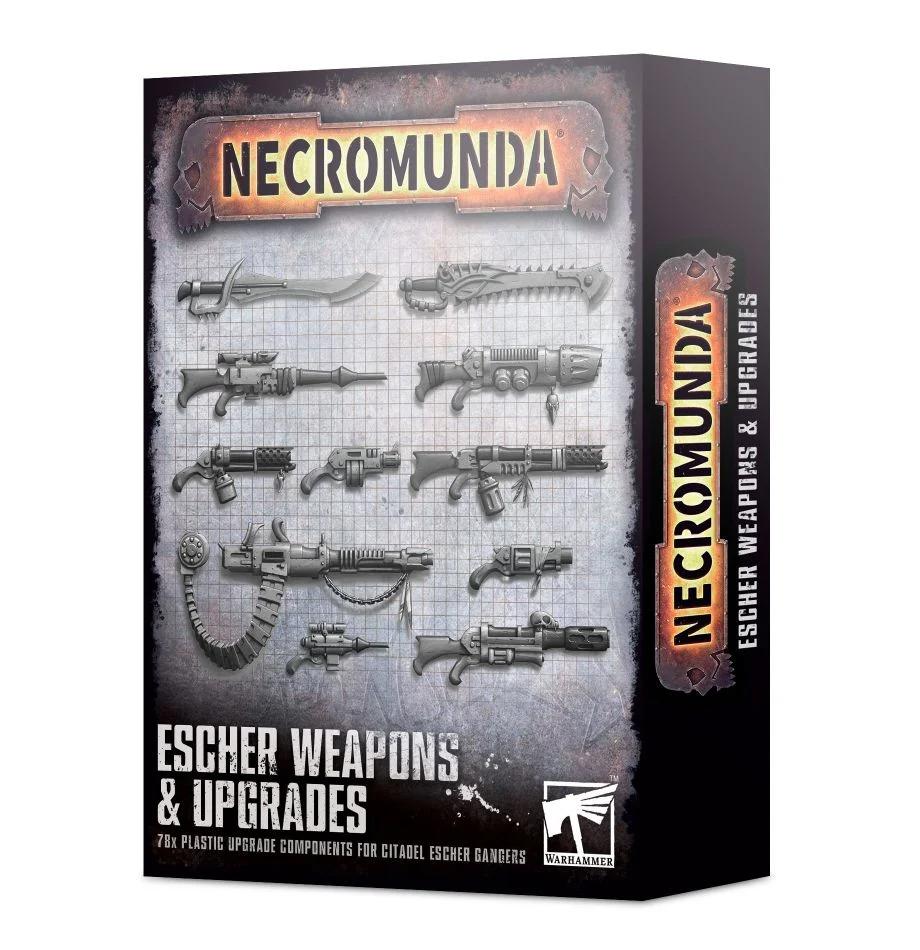 Necromunda - Escher Weapons & Upgrades