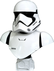 Legends in 3D - Star Wars - The Force Awakens - First Order Trooper 1/2 Bust