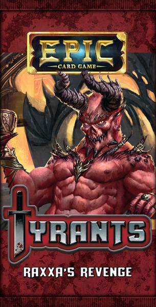 Epic Card Game - Tyrants - Raxxas Revenge