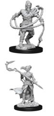 MTG Unpainted Magic Miniatures - Stoneforge Mystic & Kor Hookmaster - Wave 13