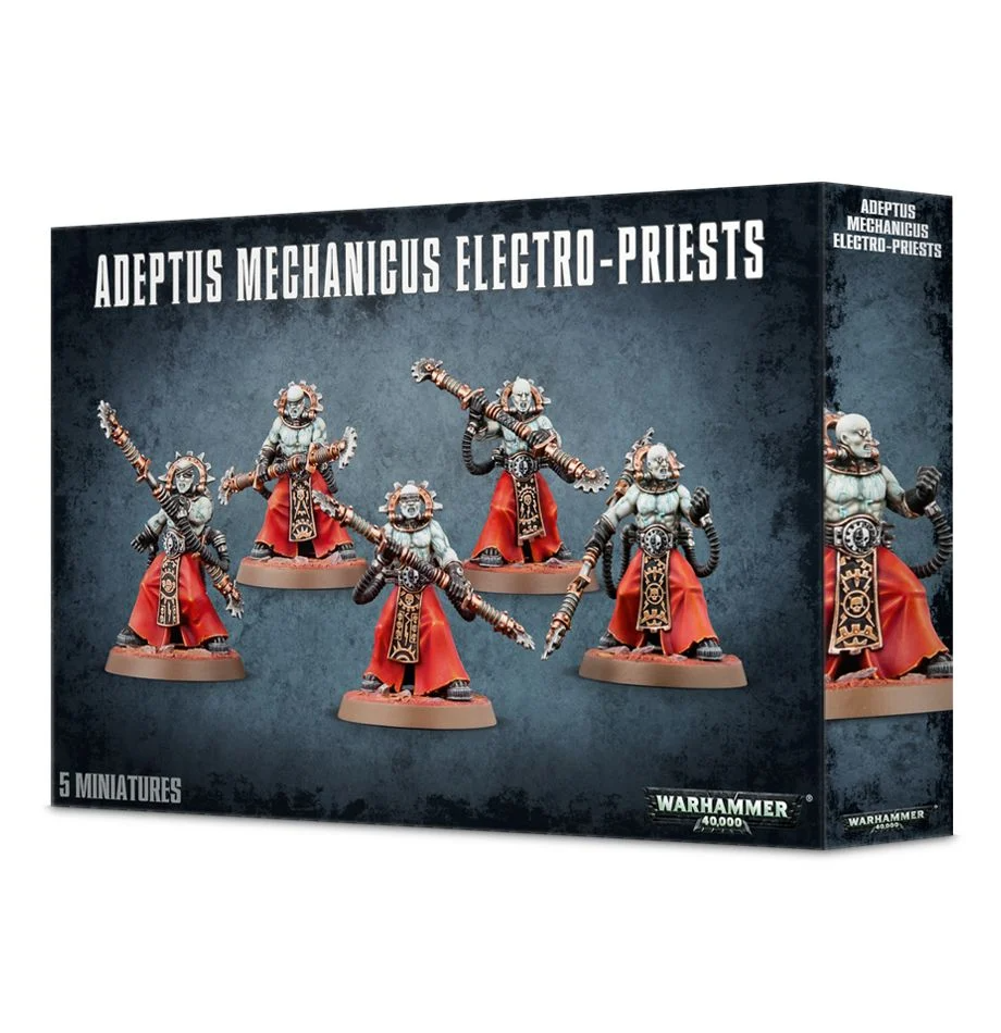 Adeptus Mechanicus - Electro-Priests