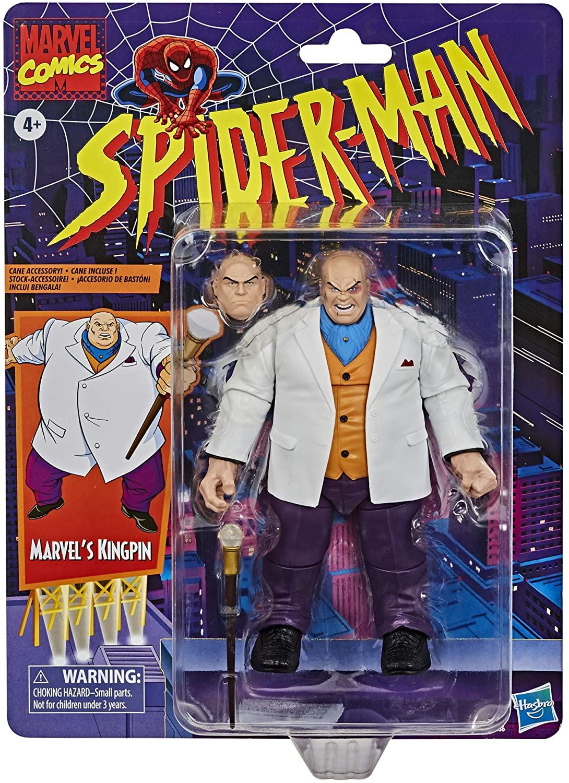 Marvel Legends - Spider-Man Vintage - Kingpin Variant Action Figure