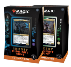 Innistrad: Midnight Hunt Commander Set of 2 Decks (no store credit or pay in store)