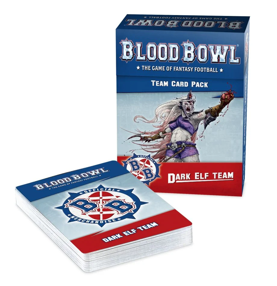 Blood Bowl -  Dark Elf Team - Card Pack