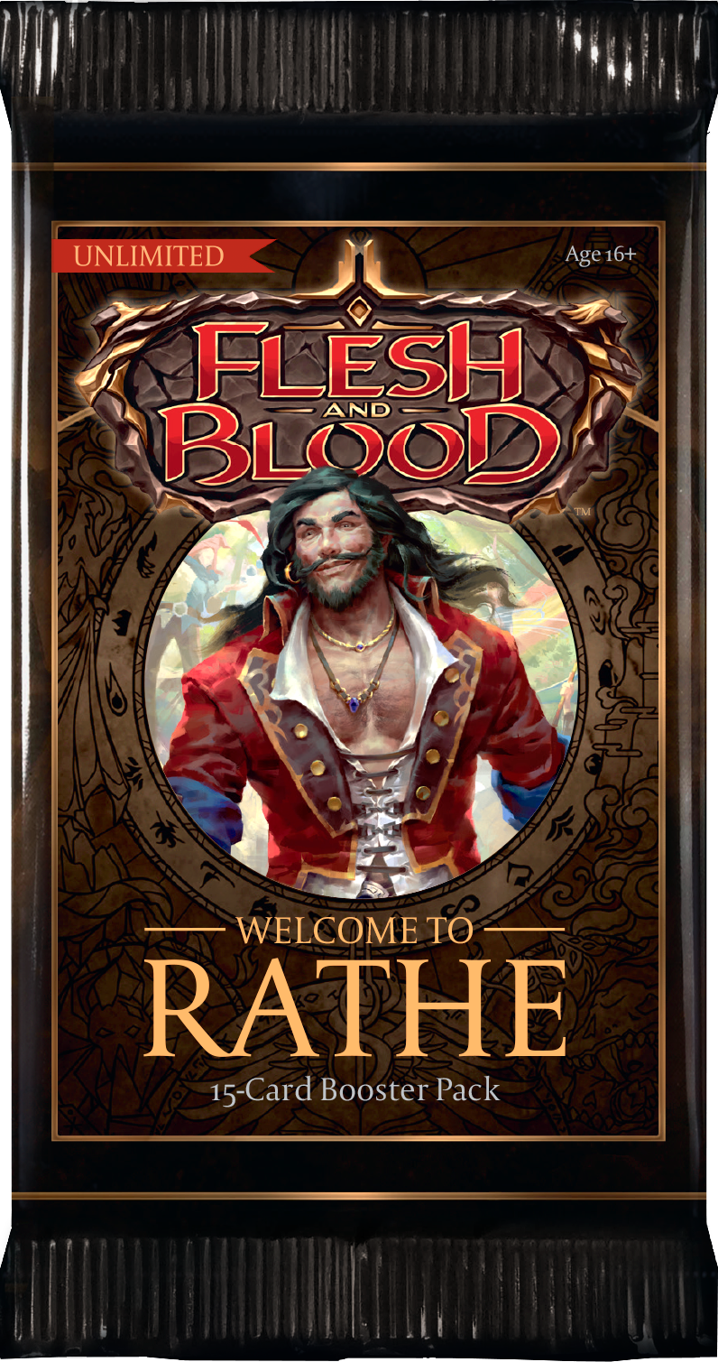 Flesh and Blood TCG - Welcome to Rathe (Unlimited) Booster Pack