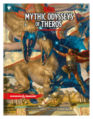 Dungeons & Dragon 5E - Mythic Odysseys of Theros