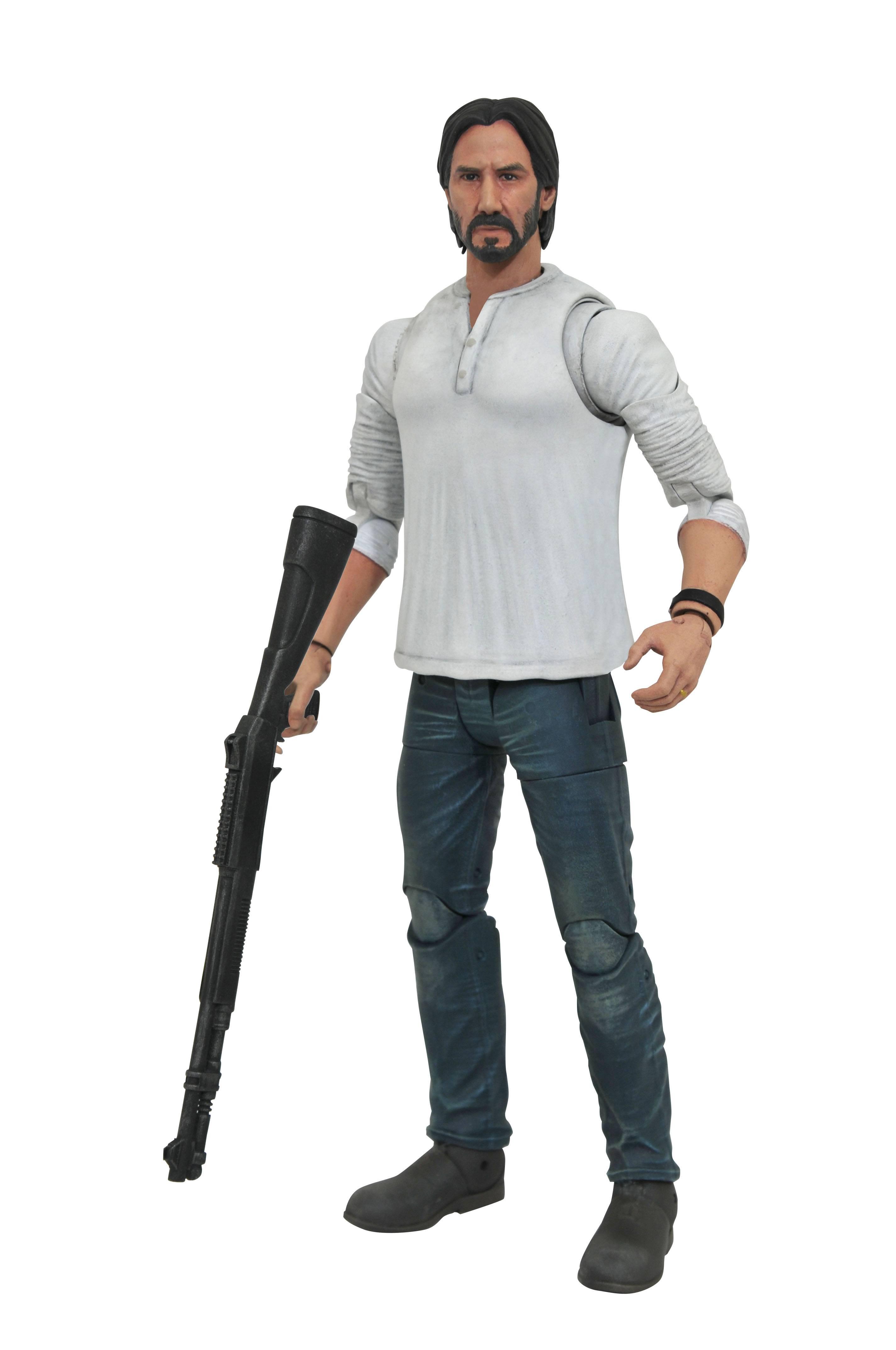 John Wick Select - Casual John Wick (White Shirt) Action Figure