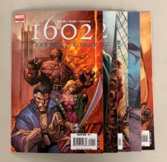 1602 Fantastick Four (Marvel 2006) #1-5 Set Peter David 1 2 3 4 5 (8.5+)