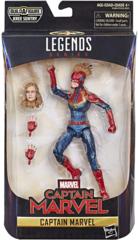 Marvel Legends - Captain Marvel - Captain Marvel 6in BAF