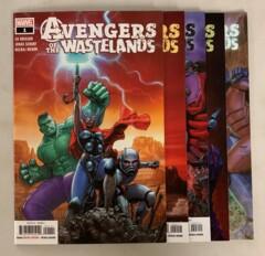 Avengers of the Wastelands #1-5 set (2020 Marvel) 1 2 3 4 5 Ed Brisson (9.0+)
