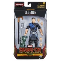 Marvel Legends - Shang-Chi Movie -  Wenwu Action Figure (BAF Mr. Hyde)