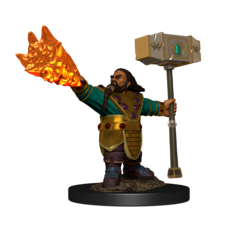 D&D Icons of the Realms - Premium Mini - Dwarf Male Cleric