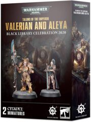 Talons of the Emperor - Valerian and Aleya Black Library Celebration 2020