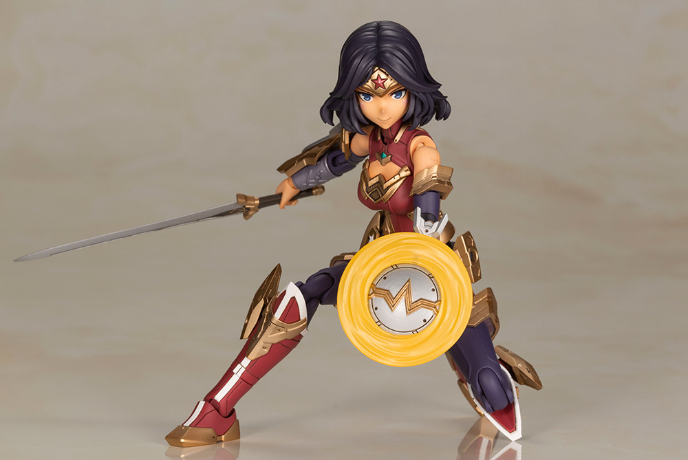 Wonder Woman Humikane Shimada Version Model Kit