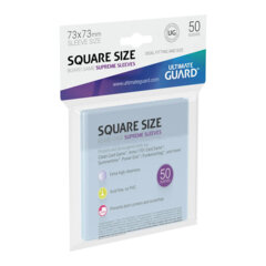 Ultimate Guard - Board Game Sleeves - Supreme Square (73mm x 73mm)