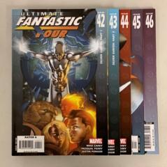 Ultimate Fantastic Four Silver Surfer (Marvel 2004) #42-46 Mike Carey 42 43 44 45 46 (8.0+)