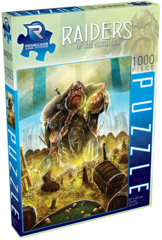 Raiders of the North Sea 1000 Piece Puzzle