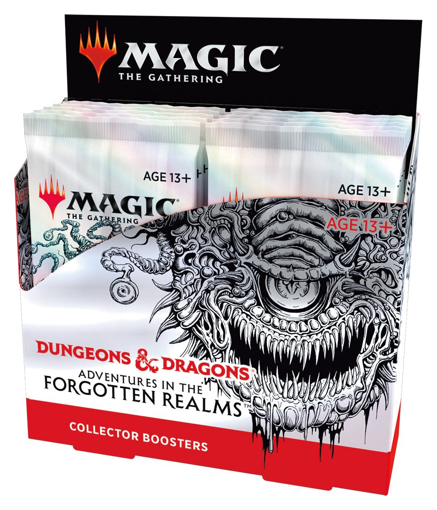 Adventures in the Forgotten Realms Collector Booster Box  (No store credit or pay in store)