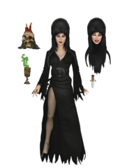 Elvira 8in Clothed Action Figure