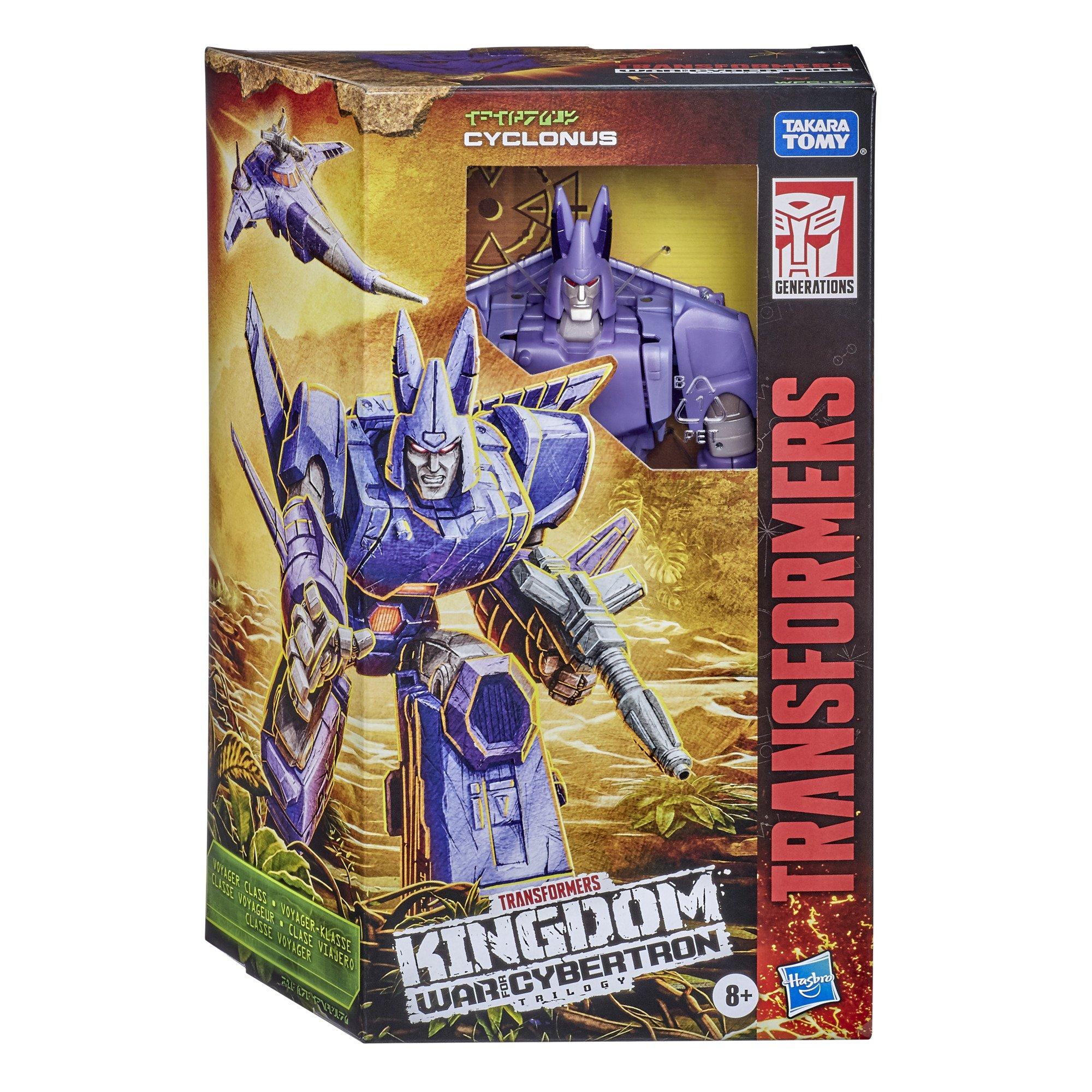 Transformers Generations War for Cybertron: Kingdom - Voyager Cyclonus