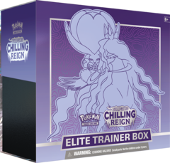 SWSH6 - Chilling Reign Elite Trainer Box: Shadow Rider Calyrex (see item description, use wishlist to be notified)