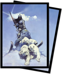 Ultra Pro - Sleeves - Frazetta - Silver Warrior 100 ct