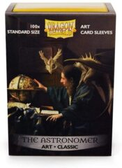 Dragon Shield - Classic Art Sleeves - The Astronomer 100 ct